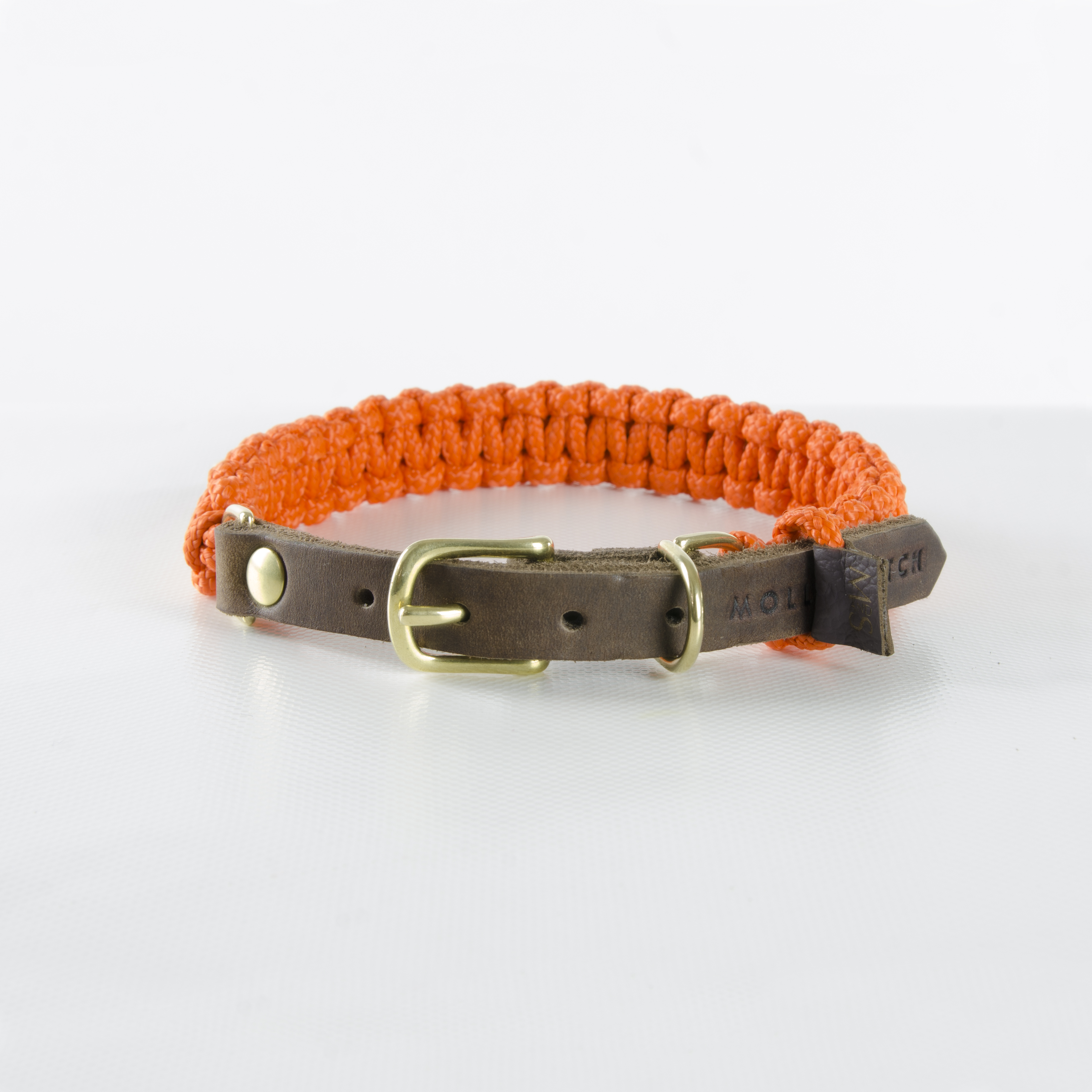 Hundehalsband Tau Touch Of Leather Pumpkin