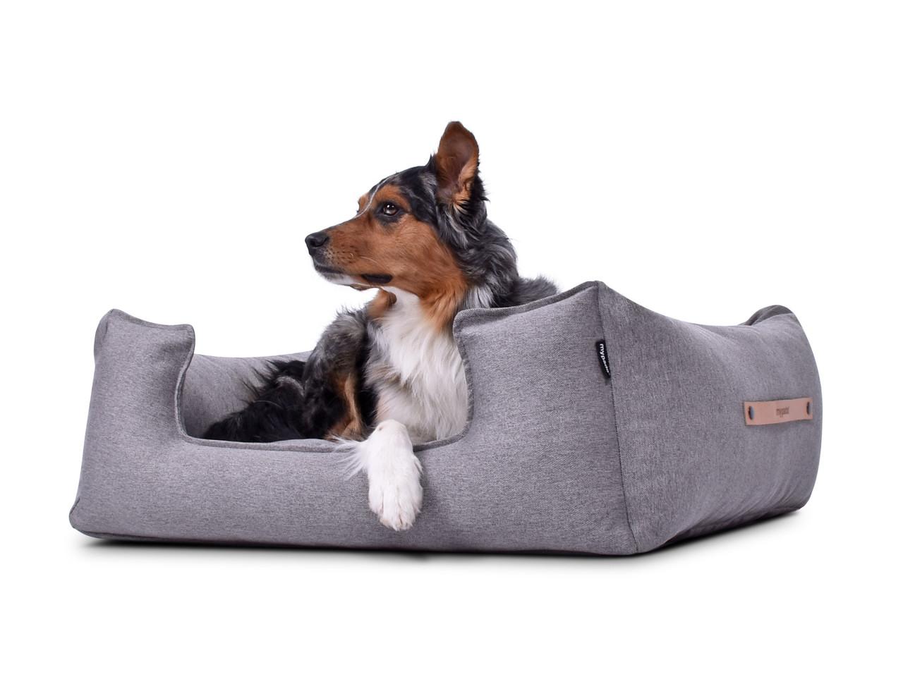 hundebett-NORDIC-basic-grey-hund