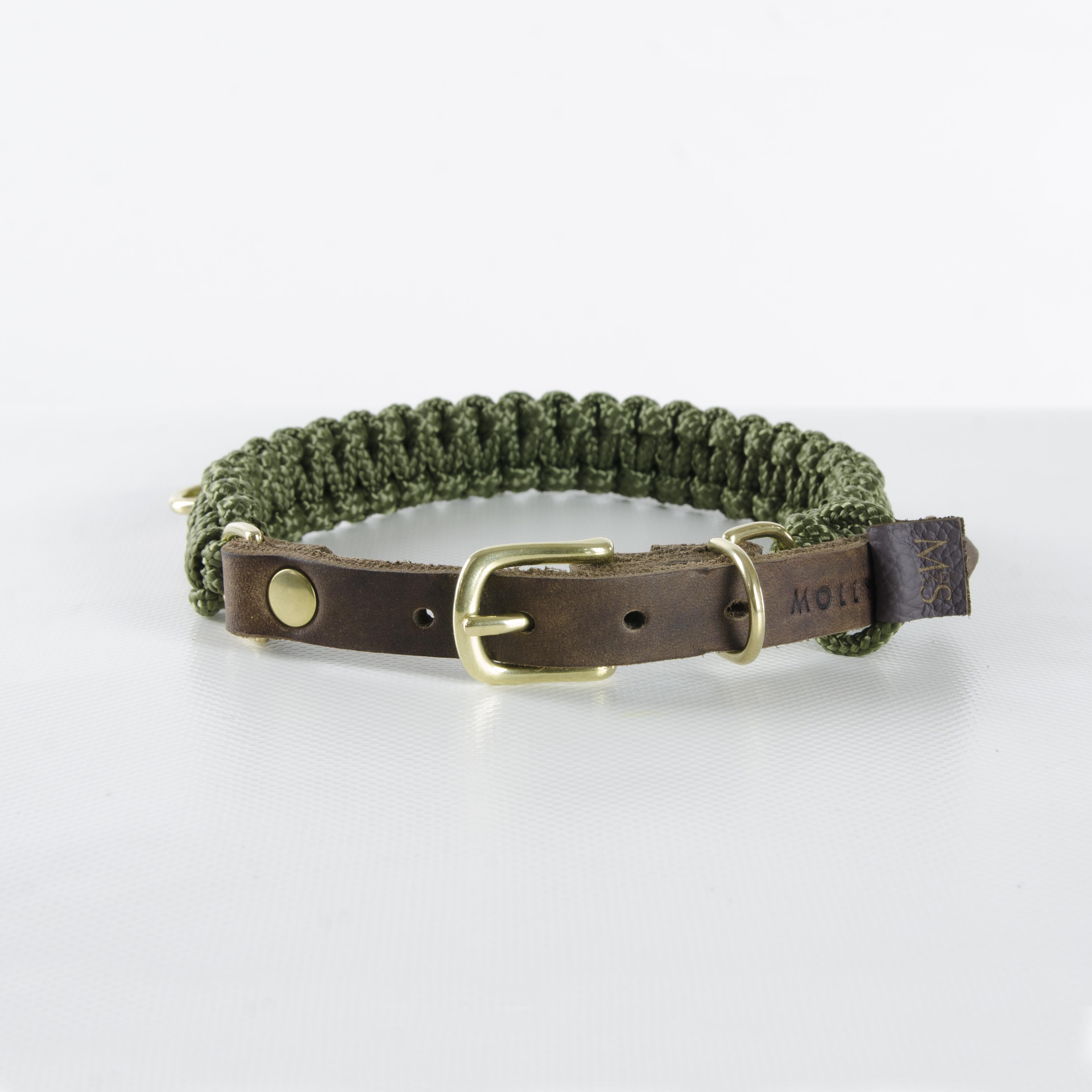 Hundehalsband TOL Gold Military (2)