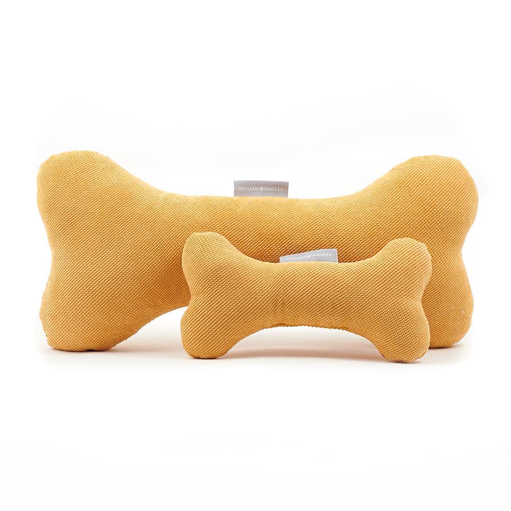 Hundespielzeug Williams Play Bone Mustard