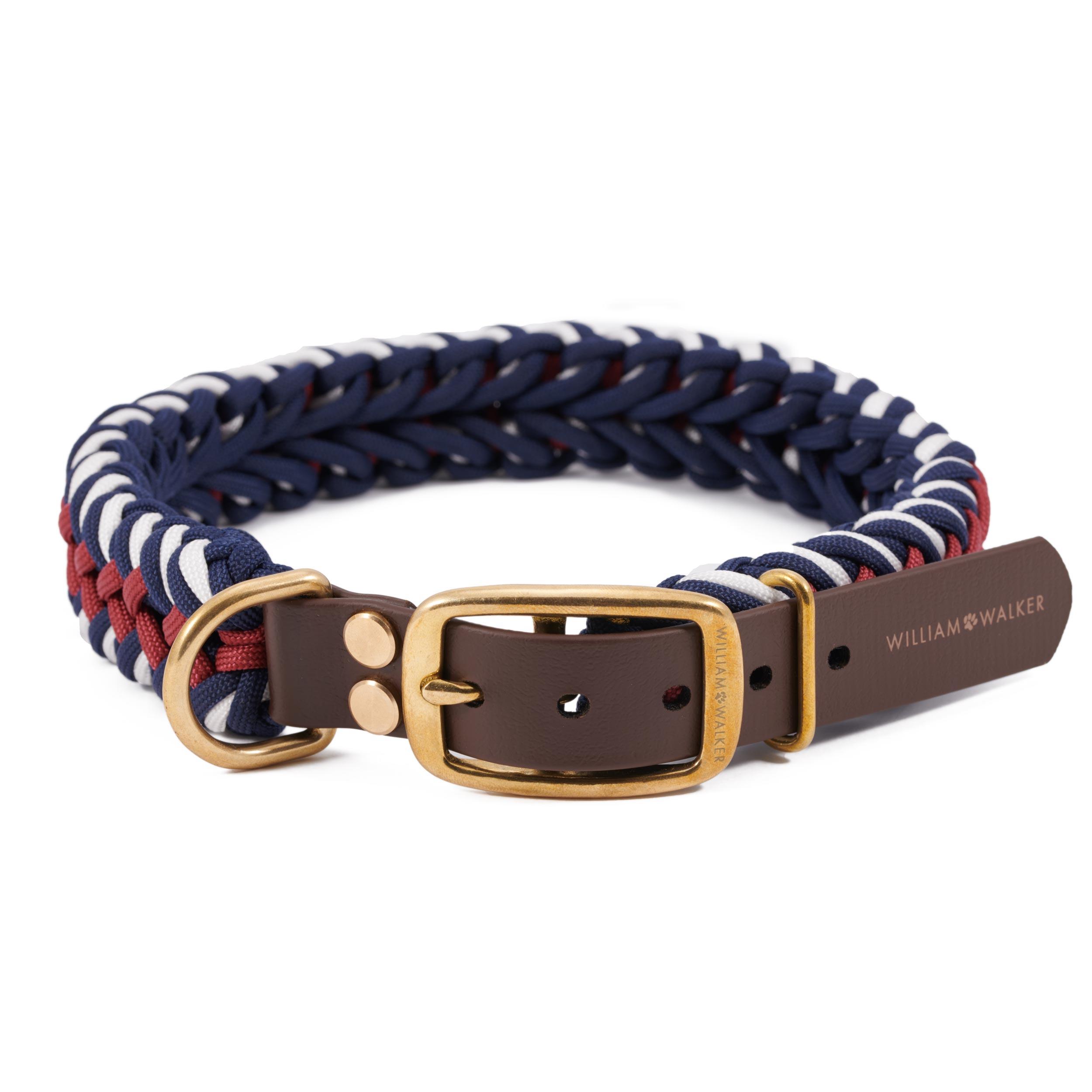 Hundehalsband Paracord Royal