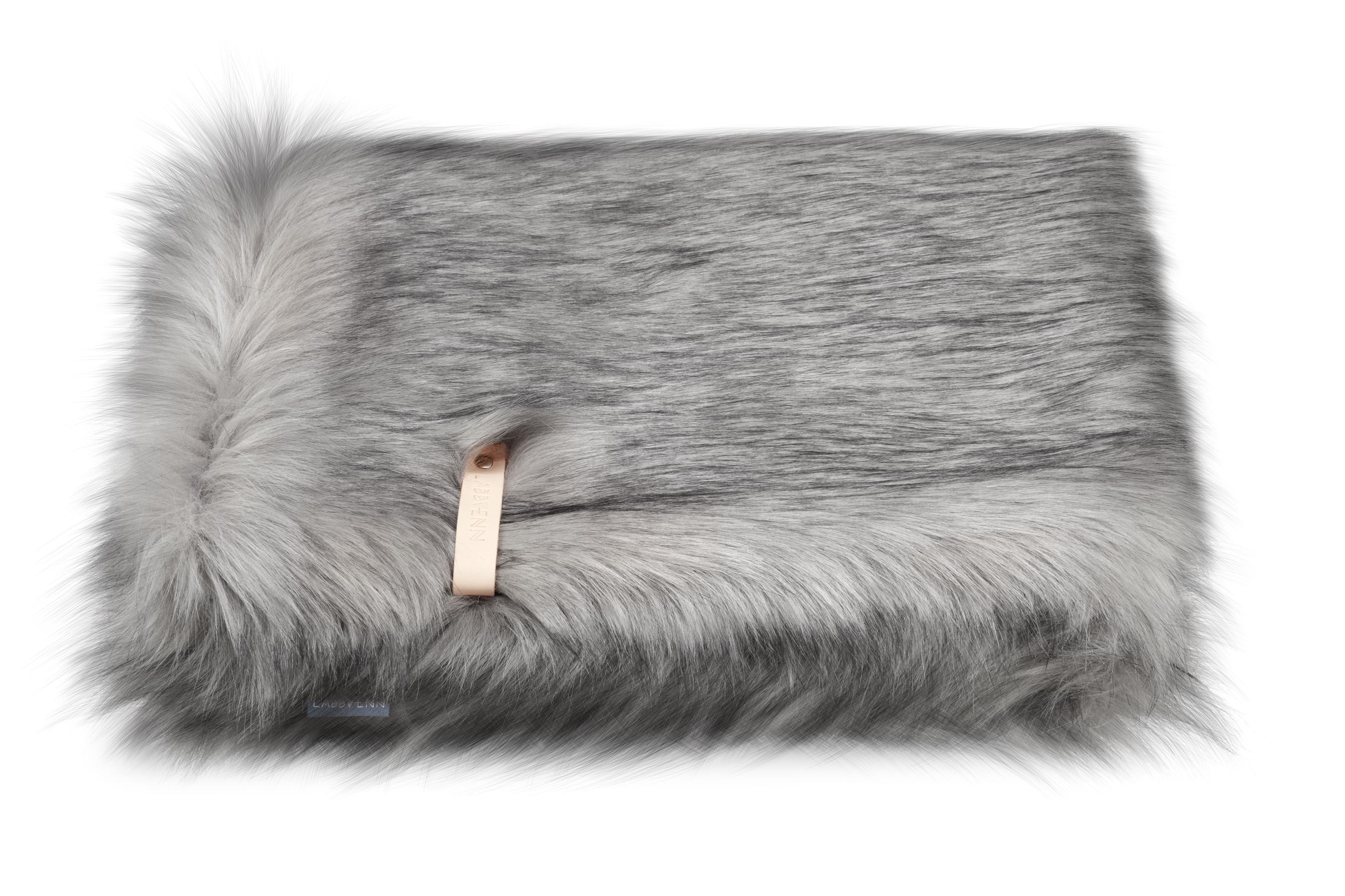 Hundedecke Labbvenn Foera grau