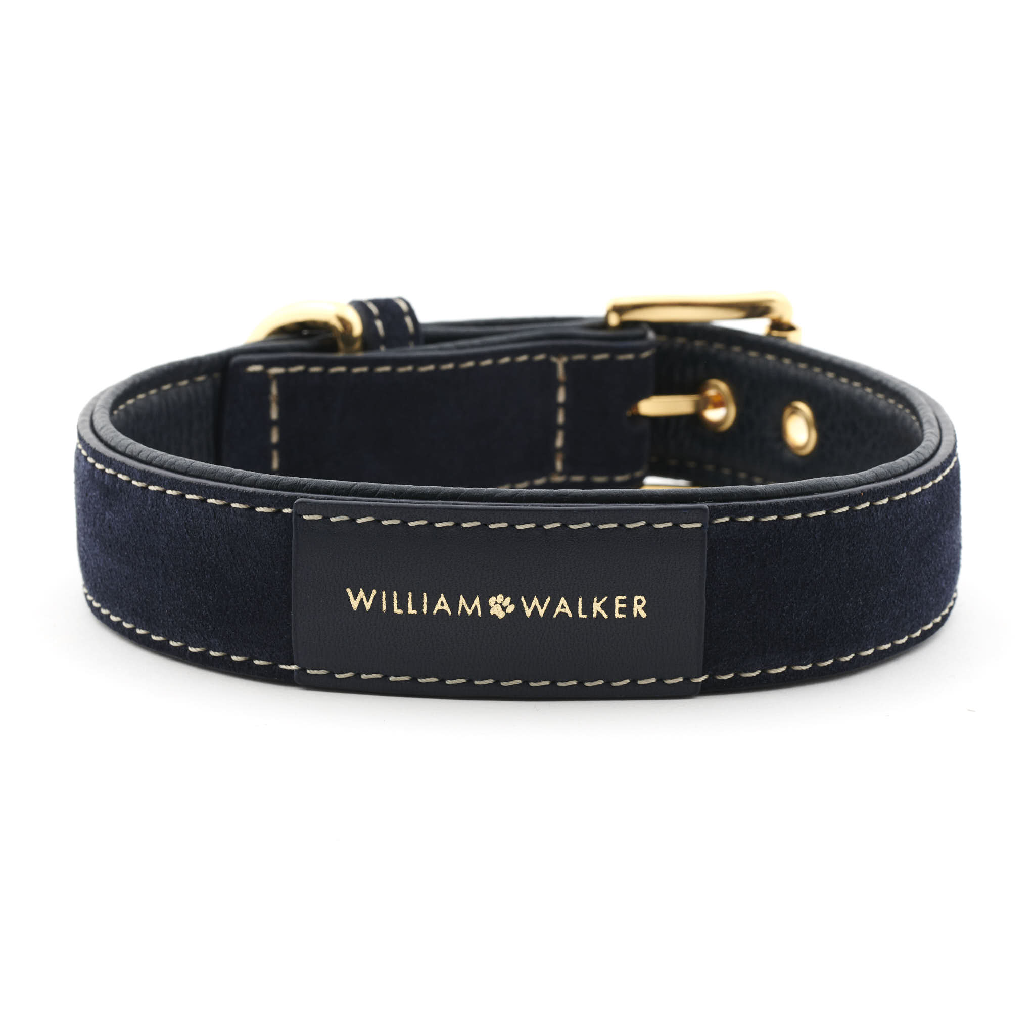 Hundehalsband dunkelblau William Walker dunkelblau front