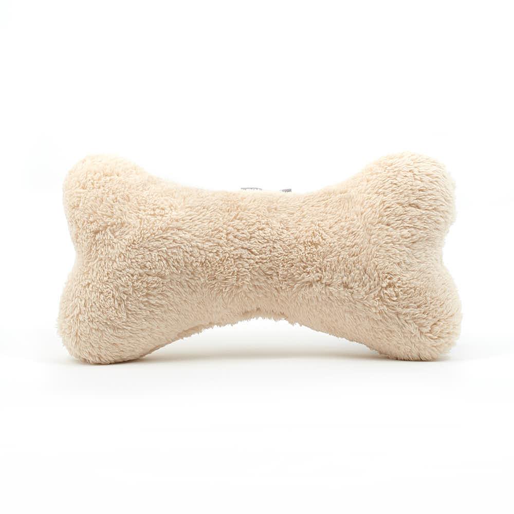 Hundeknochen Hairy Bone Beige