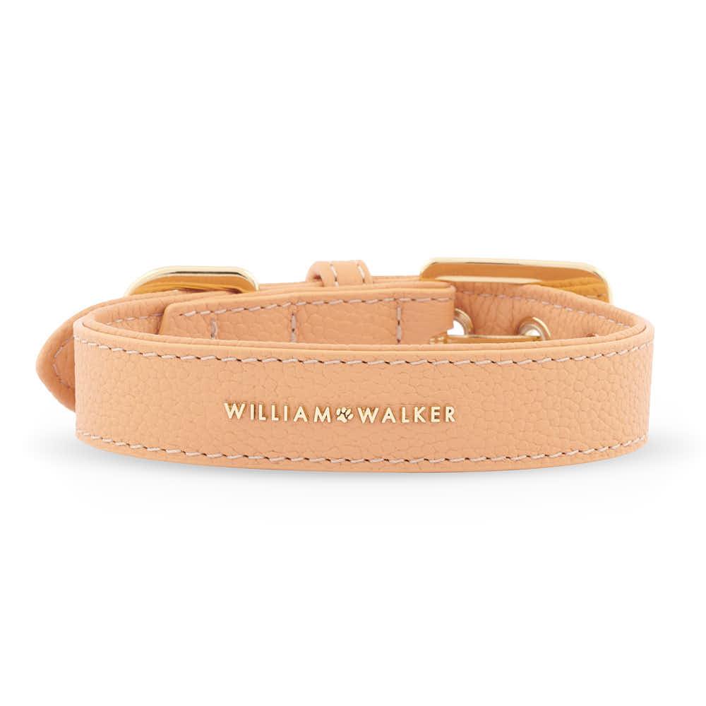 Hundehalsband Orange Napaleder William Walker
