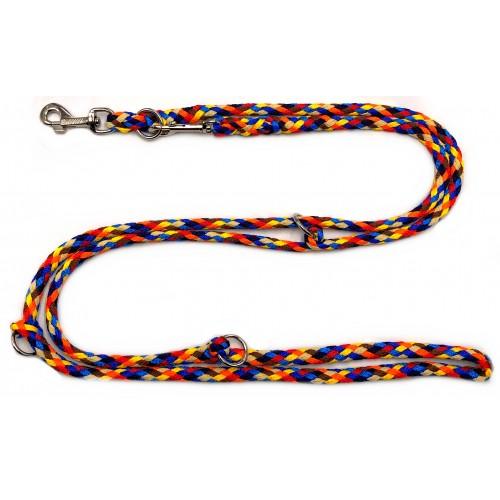 Hund&Glück Hundeleine Hippy | 2,8m | 4fach verstellbar