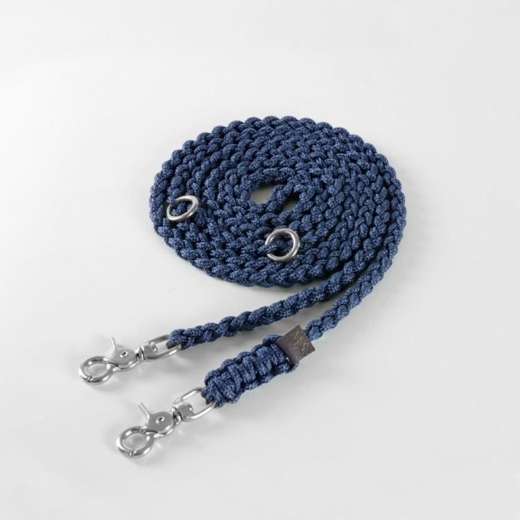 Hundeleine Silber  maritime-dog-leash-navy