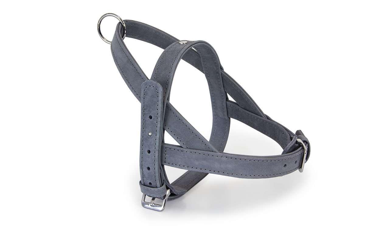 Hundeledergeschirr-Grey-HundundGlueck-Easy