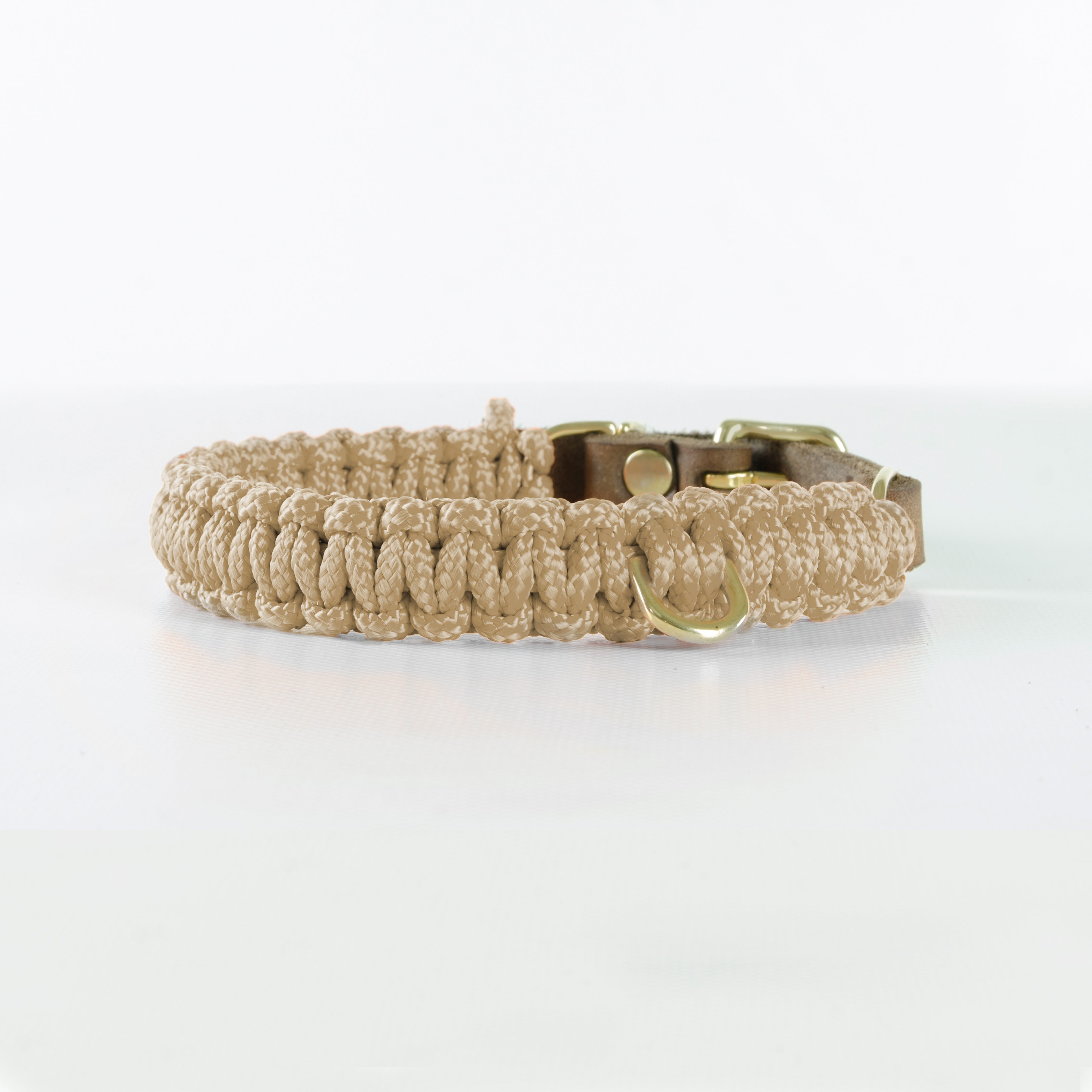 Hundehalsband Gold touch-of-leather-hundehalsband-beige (1)