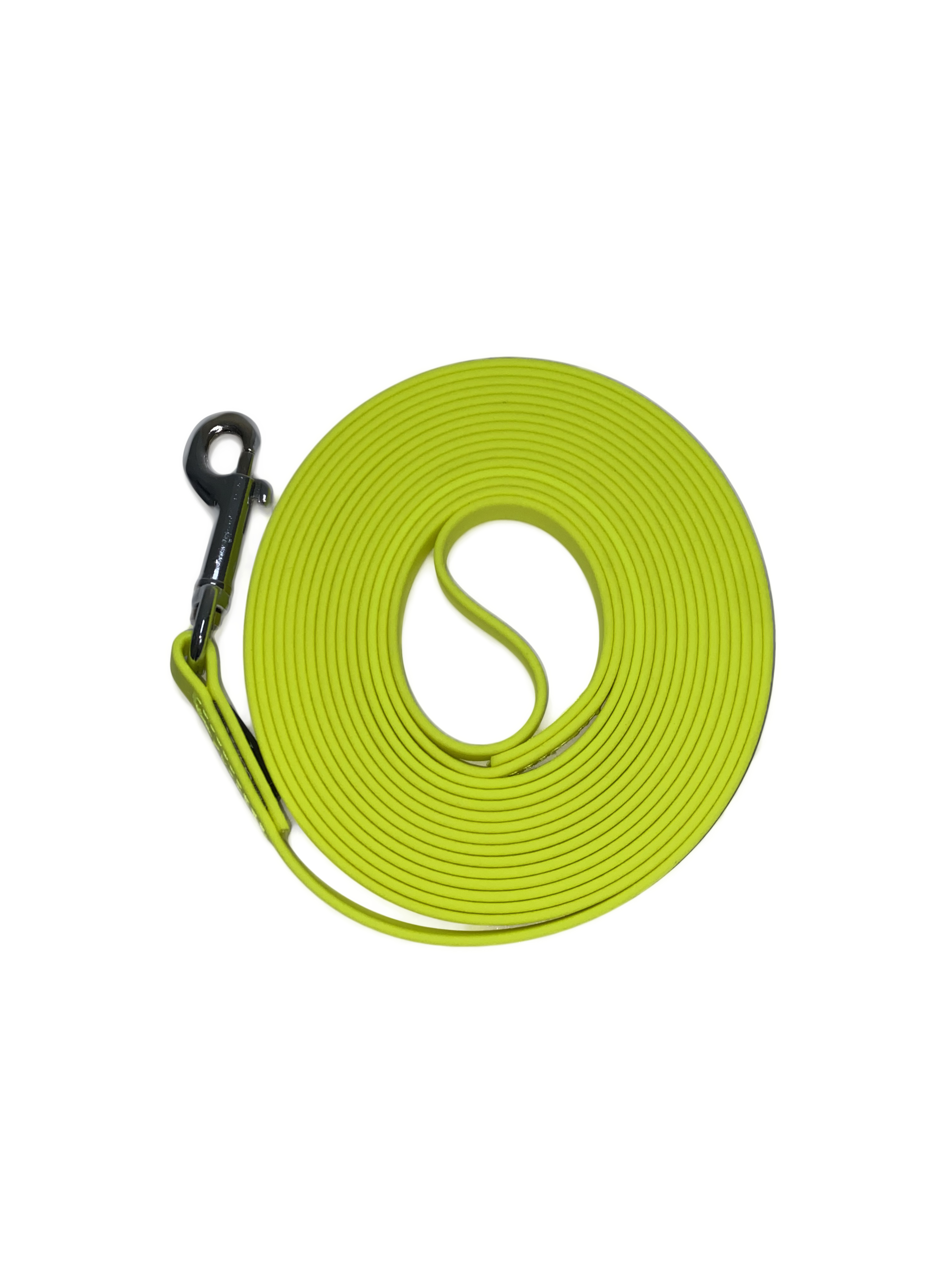 Schleppleine 2 Handschlaufe gelb Biothane Hund 5m_10_m_15m_13mm3