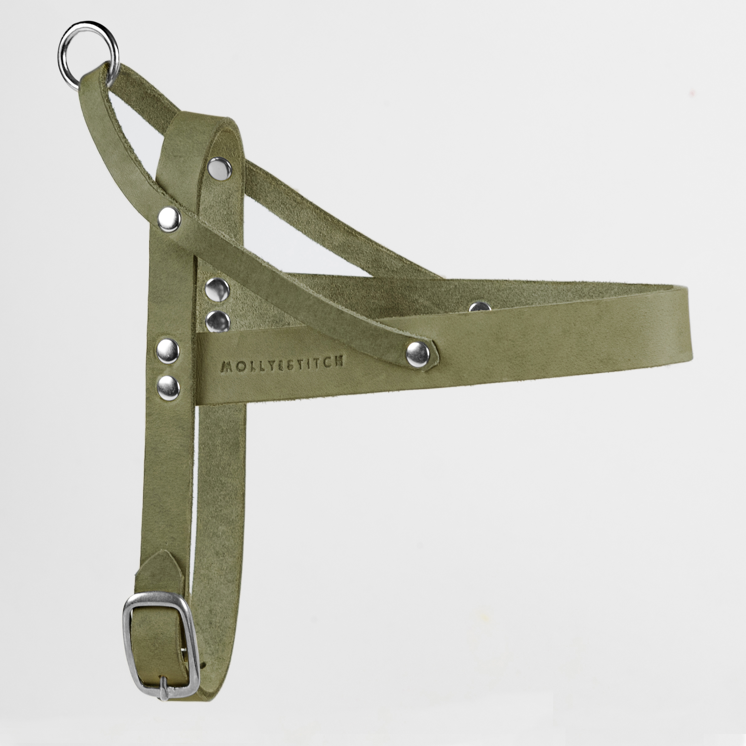 Hundegeschirr Olive tree Silber Butter Molly Stitch