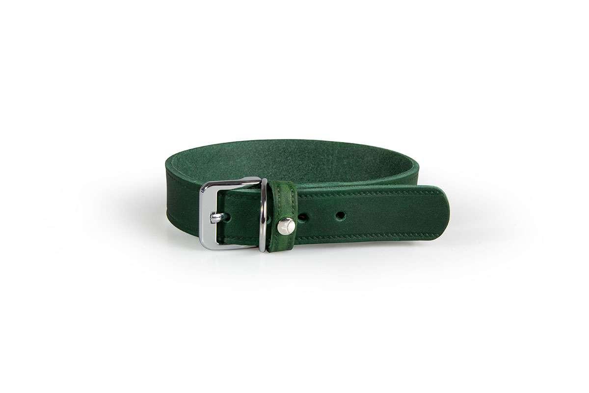 hundehalsband-hundundglueck-huggy-forrest green