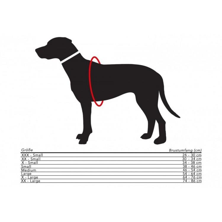 Hundegeschirr Größe
